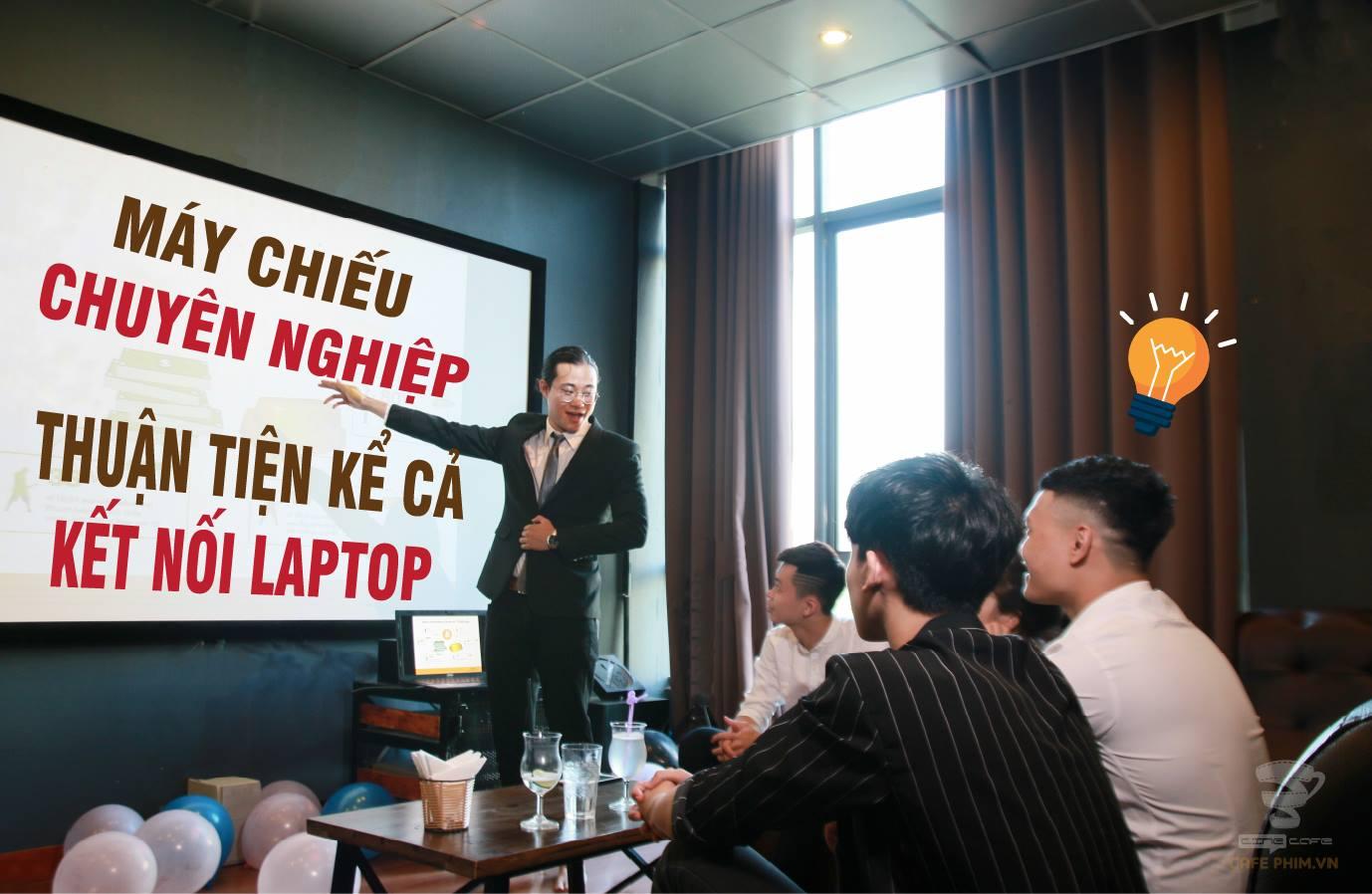 Phòng Học Nhóm Offline Tại Cafe Phim Chùa Láng