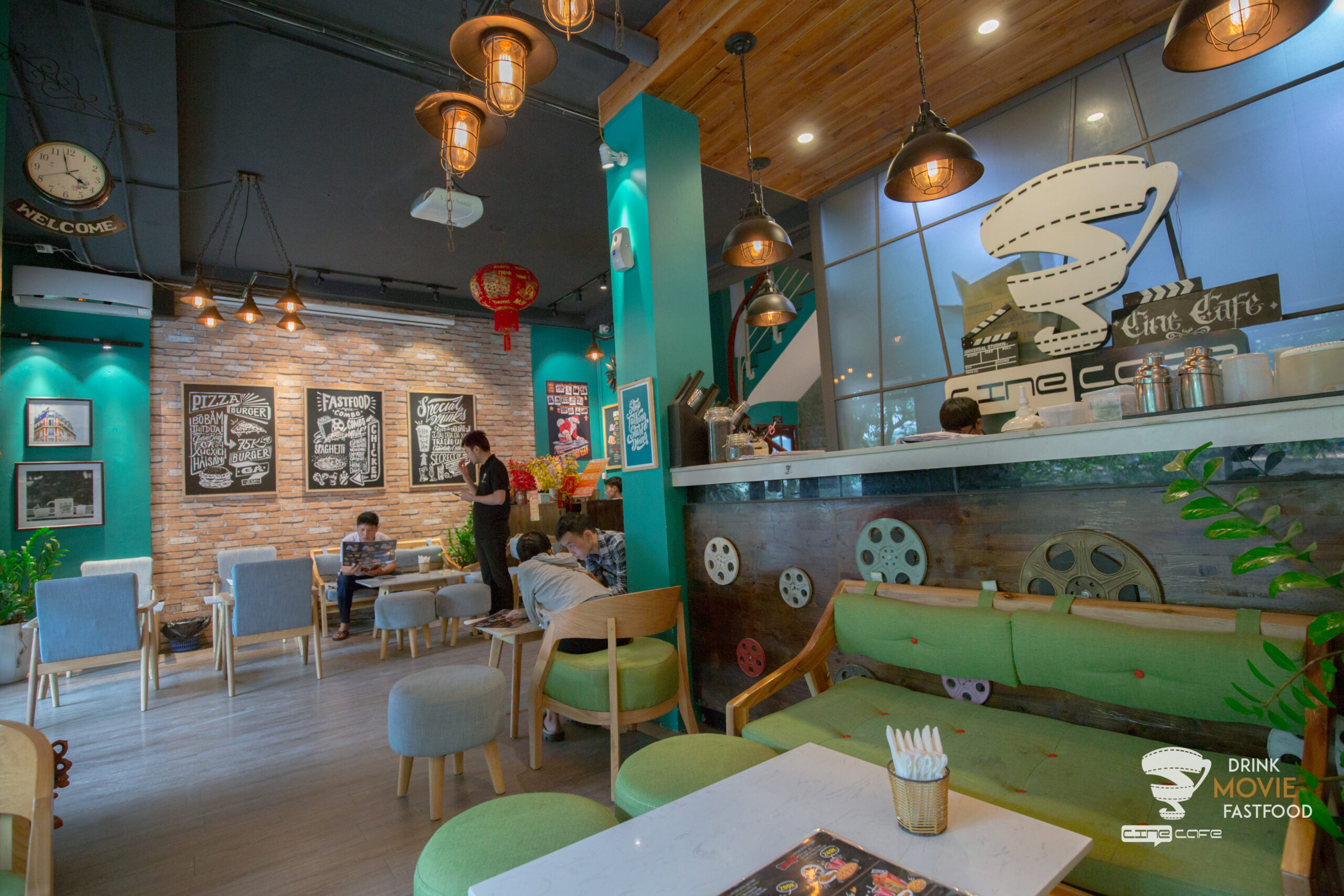 review cafe phim